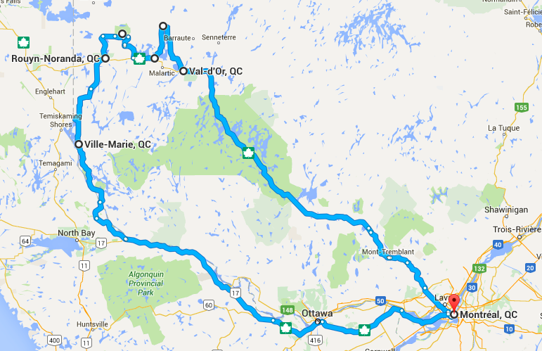 Roadtrip Abitibi-Témiscamingue