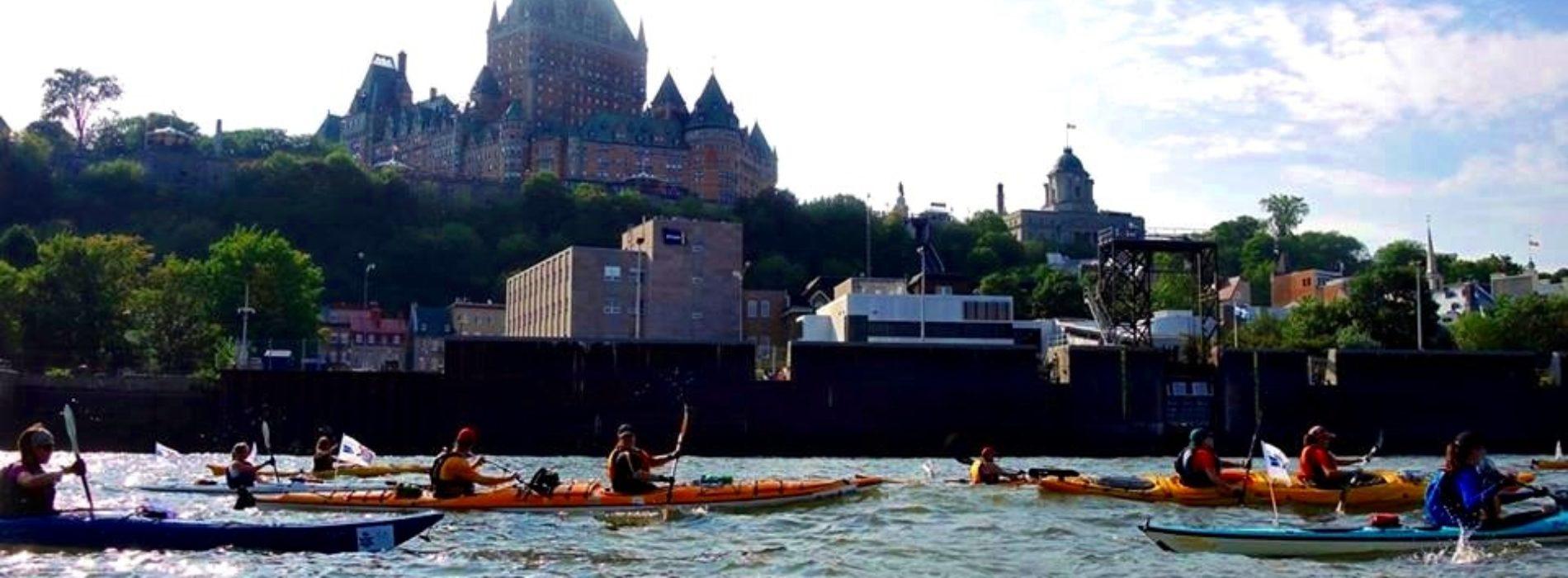 Exaltante 20 : Défi kayak Montréal – Québec