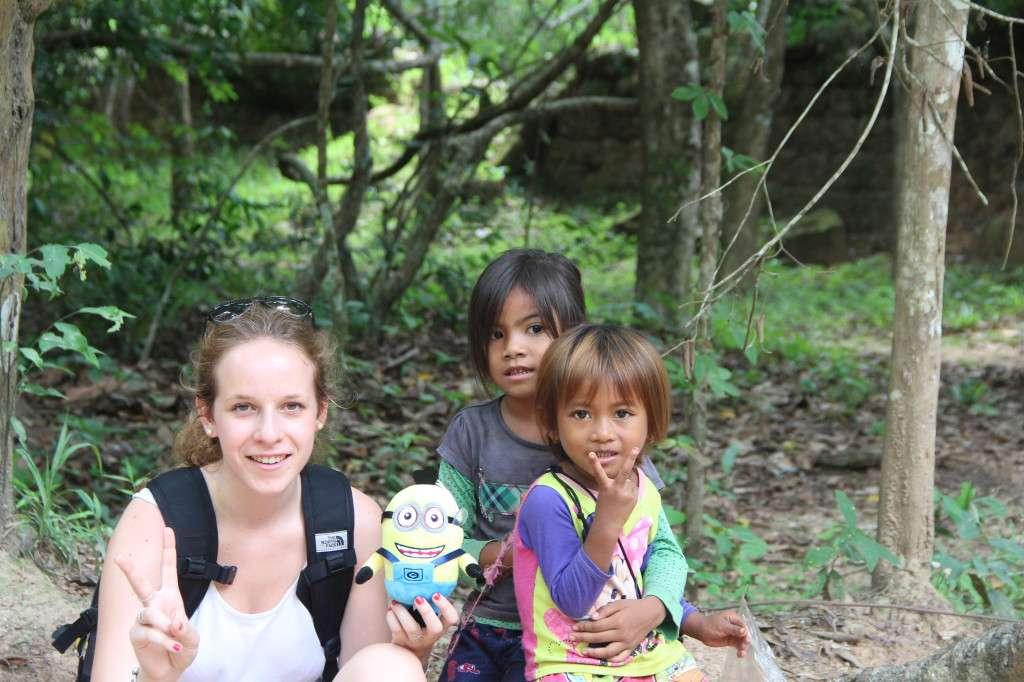 Enfants Siem Reap - Ces personnes qui font tout un voyage - Nomad Junkies