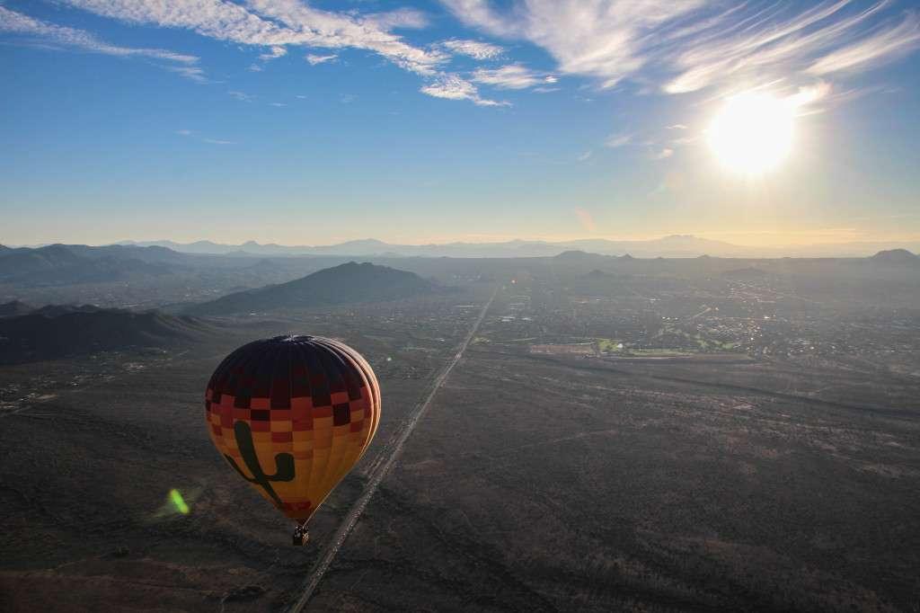 Hot Air Balloon Nomad Junkies