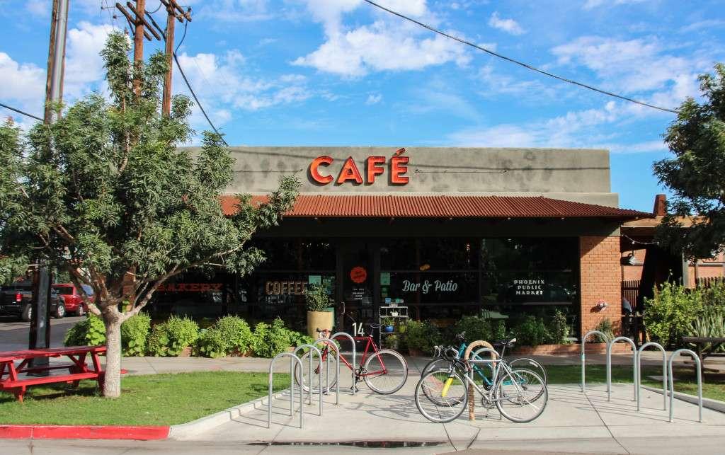 Phoenix public market cafe Nomad Junkies