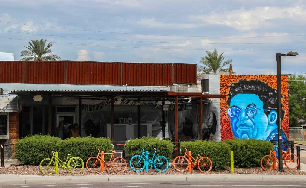Phoenix street art Nomad Junkies