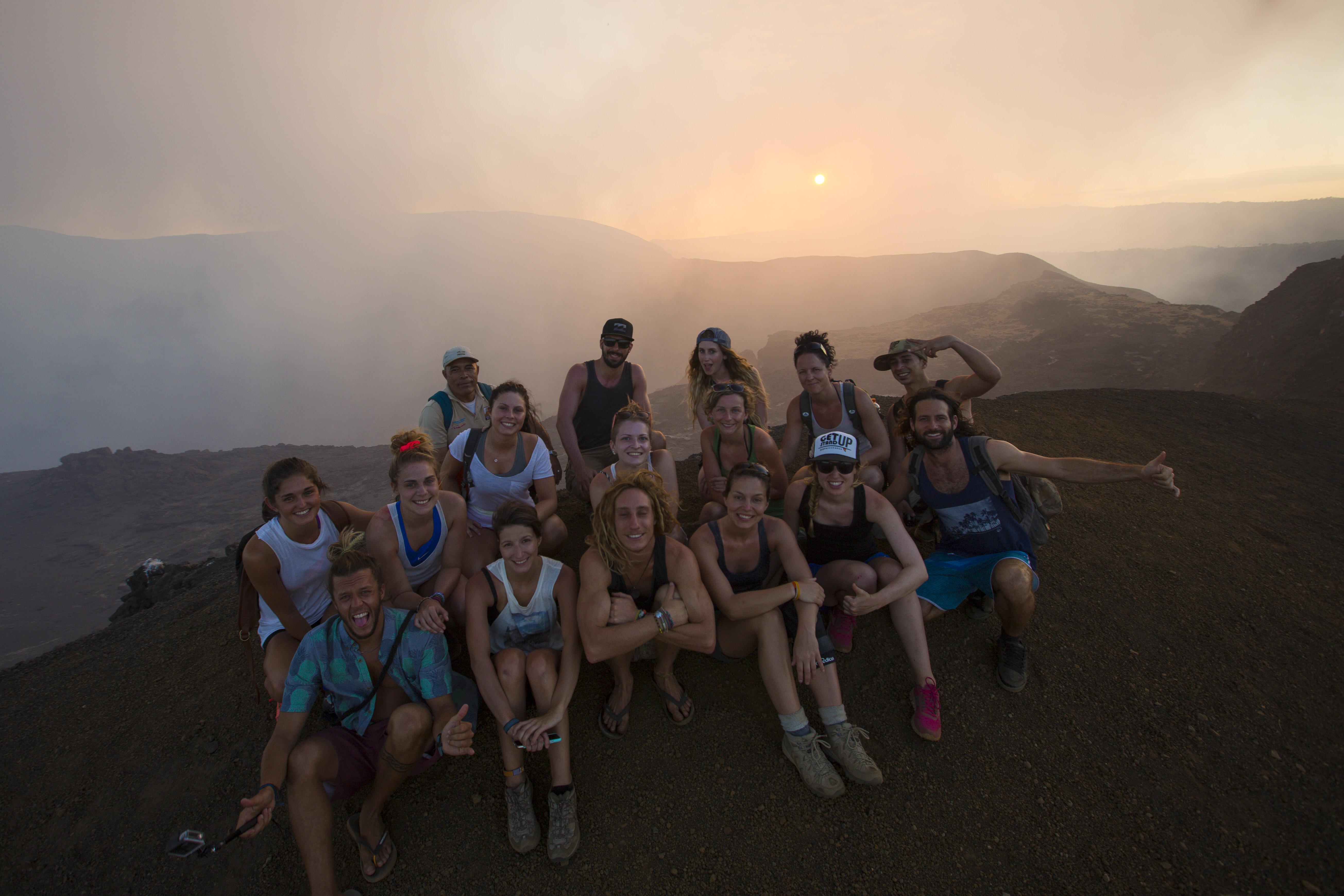 Volcan Nicaragua - Portrait de nomade Sebastion Surf Expedition - Nomad Junkies