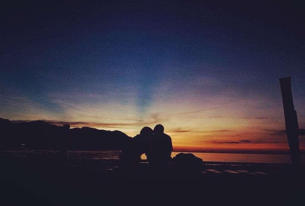 Coucher de soleil - La règle dor du voyage en couple - Nomad Junkies