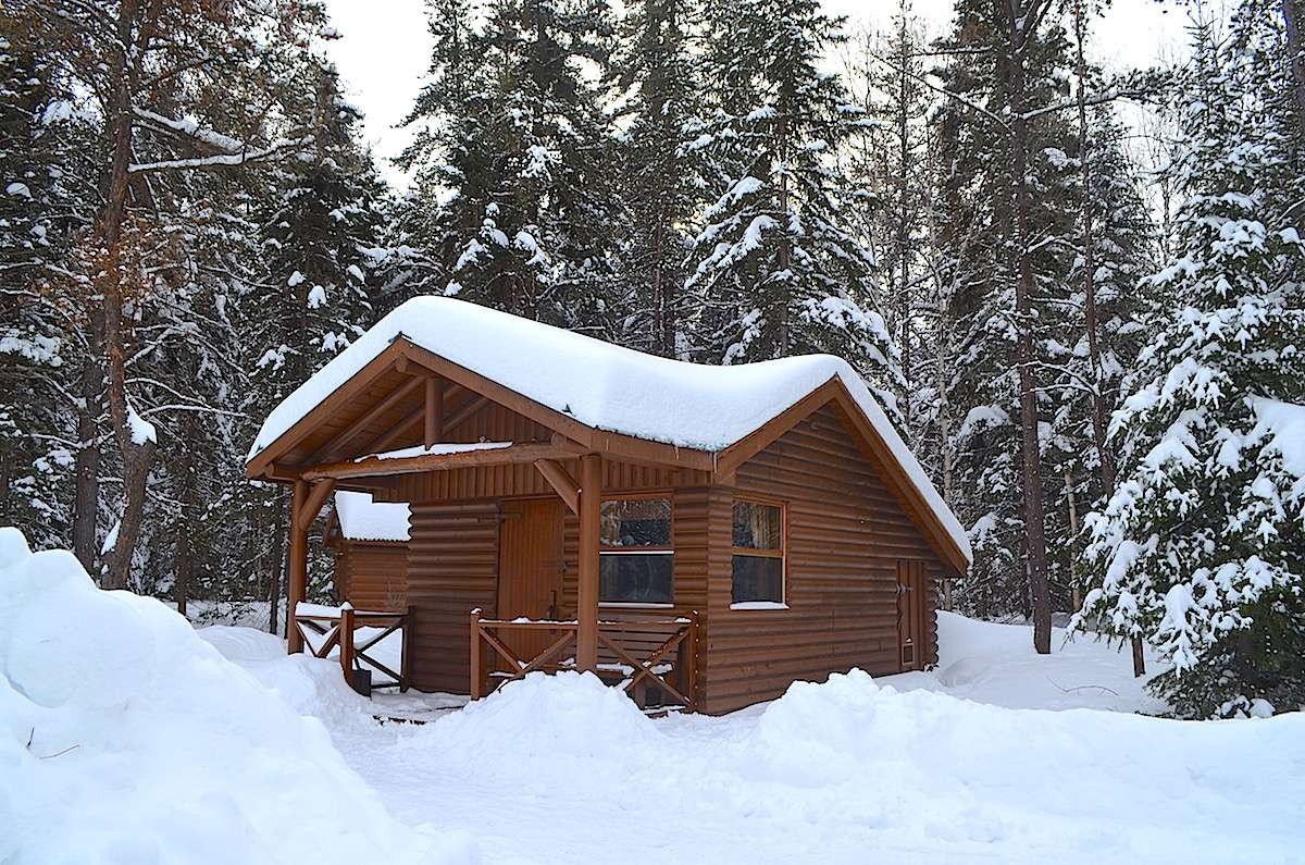 Refuge parc Aiguebelle Abitibi Temiscamingue Nomad Junkies