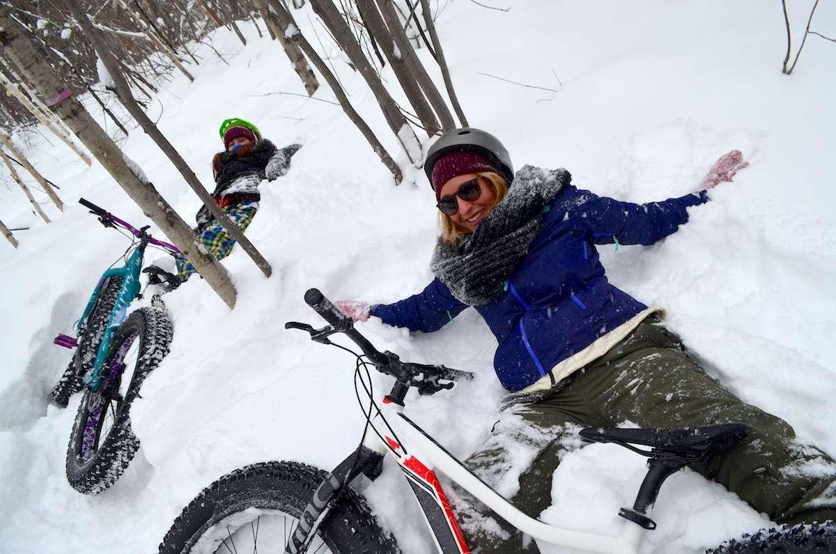 Fat bike Abitibi Temiscamingue Nomad Junkies