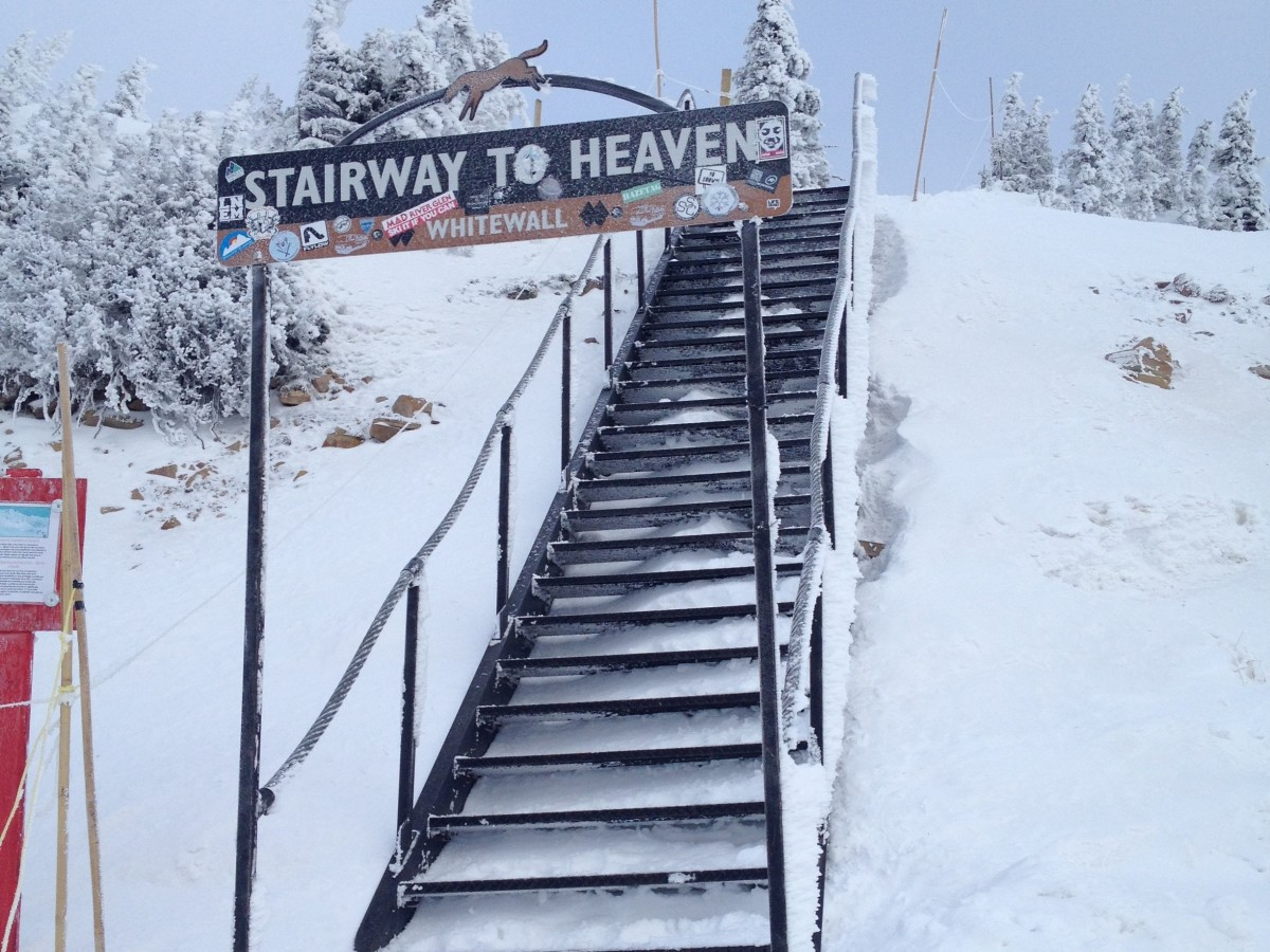 Stairway to Heaven - Kicking Horse - Nomad Junkies