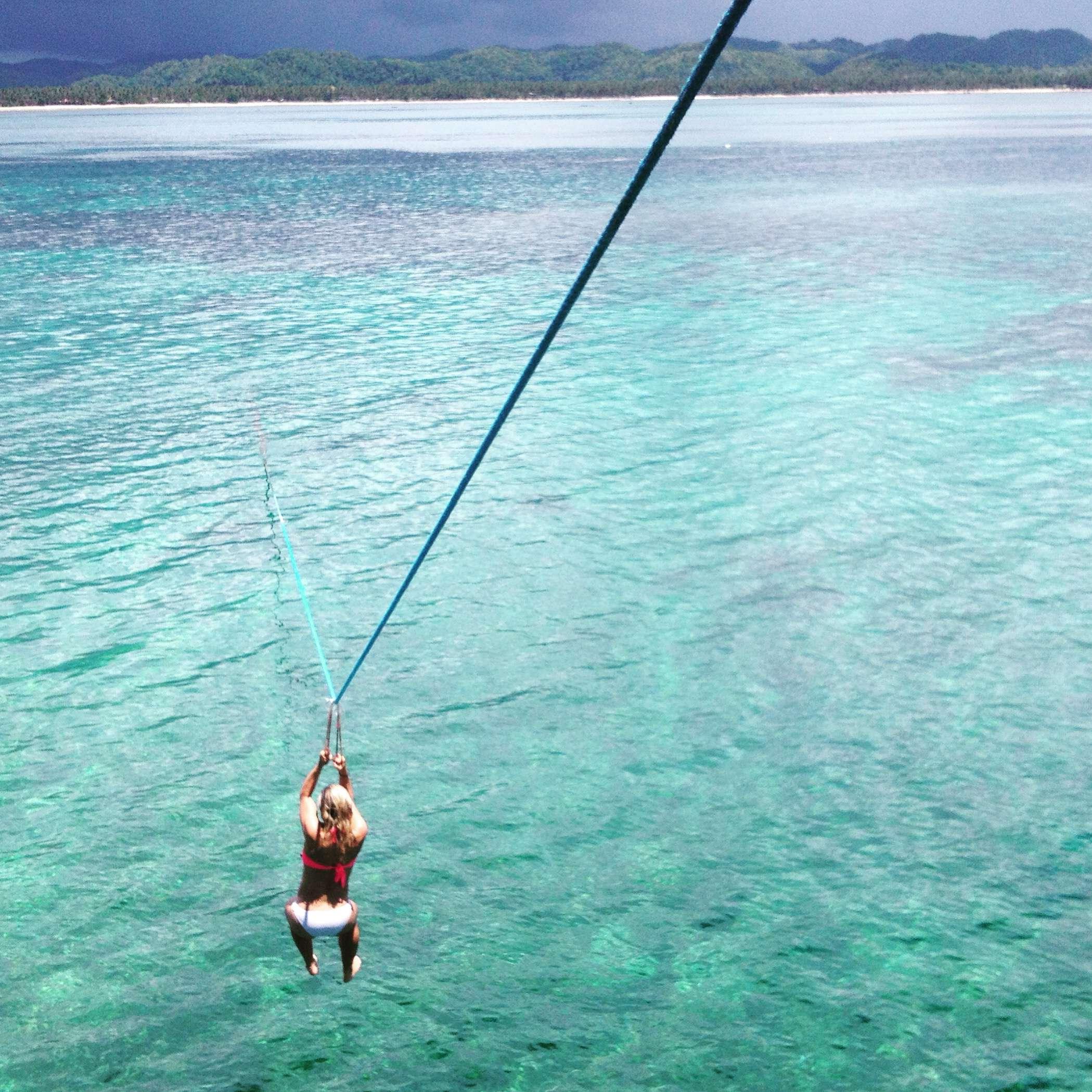 Zipline - Siargao île Philippines - Nomad Junkies