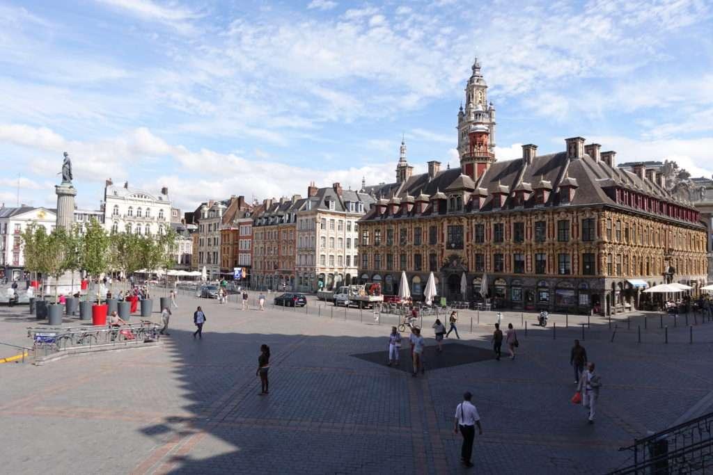 Grande Place - Escapade à Lille - Nomad Junkies