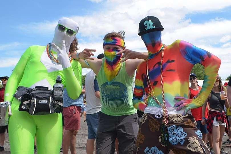 Morph suit - Osheaga un festival de voyage - Nomad Junkies