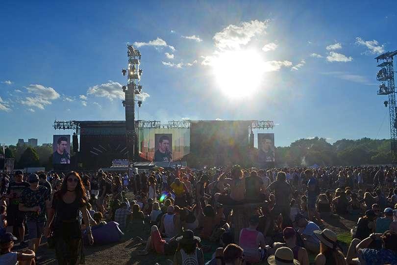 Scéne après-midi - Osheaga un festival de voyage - Nomad Junkies