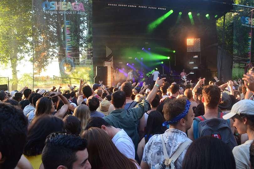 Crowd scène - Osheaga un festival de voyage - Nomad Junkies