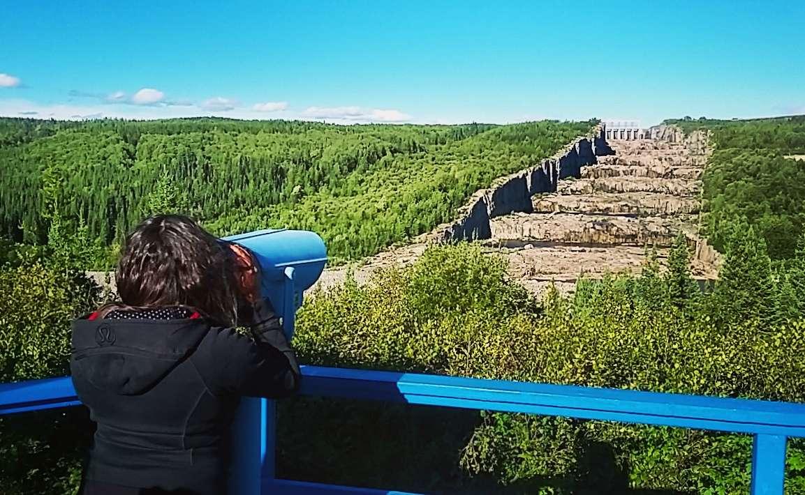 Escaliers de géants Radisson Itinéraire 10 jours Baie-James roadtrip - Québec - Canada - Nomad Junkies