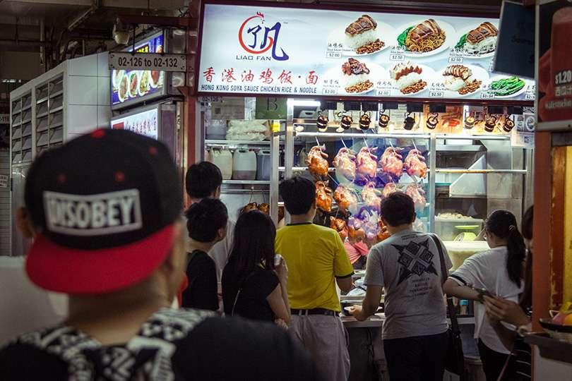 Kong Kong Soya Chicken Rice & Noodles - Le gros luxe à Singapour : 2 $ pour un restaurant du Guide Michelin! - Nomad Junkies