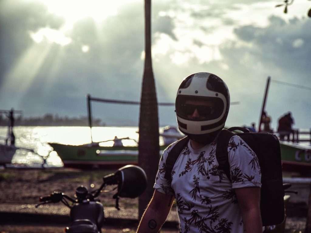 Moto - Portrait de nomade : Kevin Latrem du Gypsy - Nomad Junkies