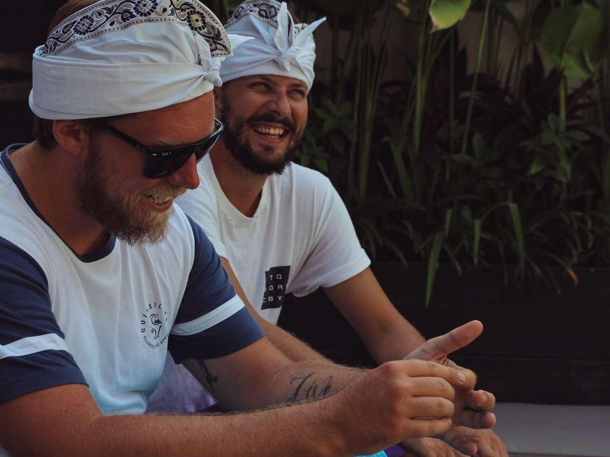 Sourire - Portrait de nomade : Kevin Latrem du Gypsy - Nomad Junkies