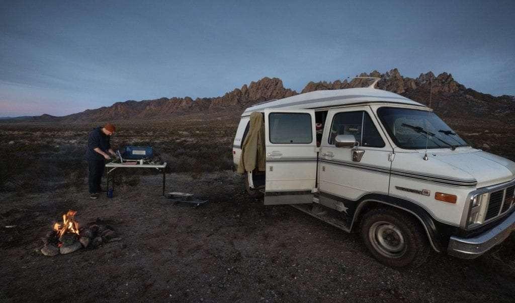 Nouveau-Mexique van - Portrait de nomade : 7 questions à Julien de Go-Van - Nomad Junkies