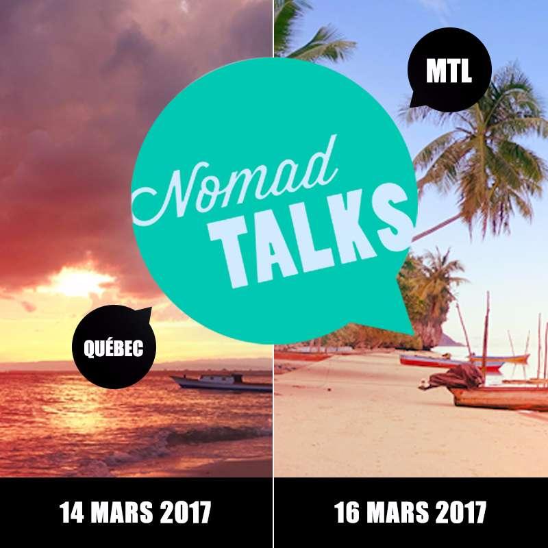 NomadTALKS Montréal et Québec 2017