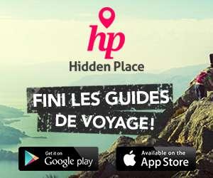 Télécharge l'app pour les backpackers Hidden Place
