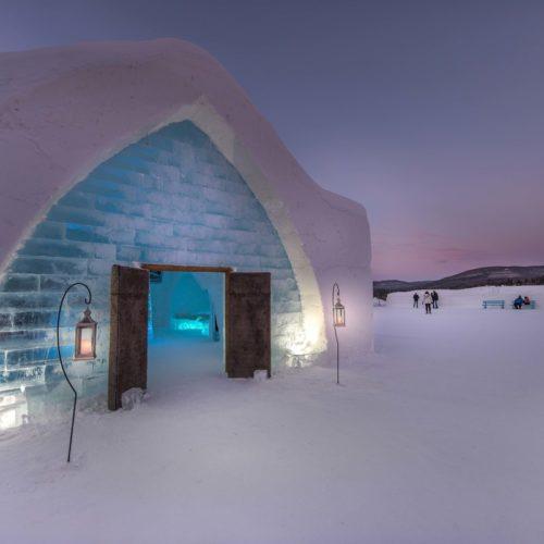 L'Hôtel de Glace de Québec(ou comment tomber amoureux de l'hiver!)