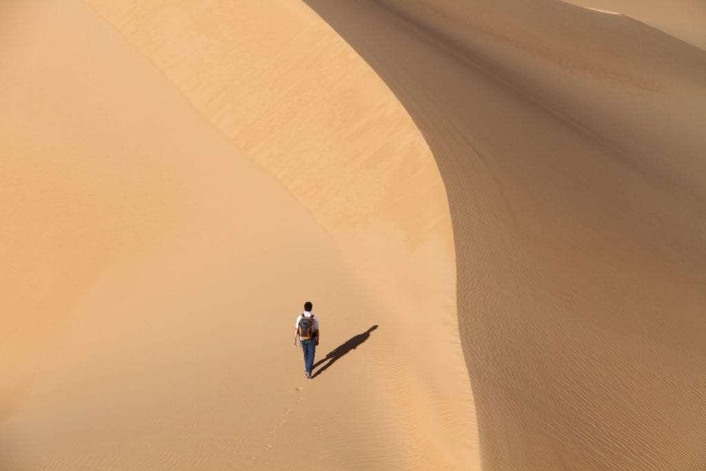 Désert solitude - Portrait de nomade : 7 questions à Charles de Village Monde - Nomad Junkies