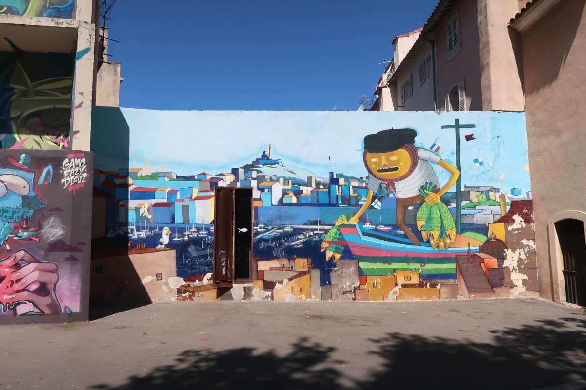 Street Art - Envole-toi vers Marseille : découvre la «vibe» du Sud de la France - Nomad Junkies