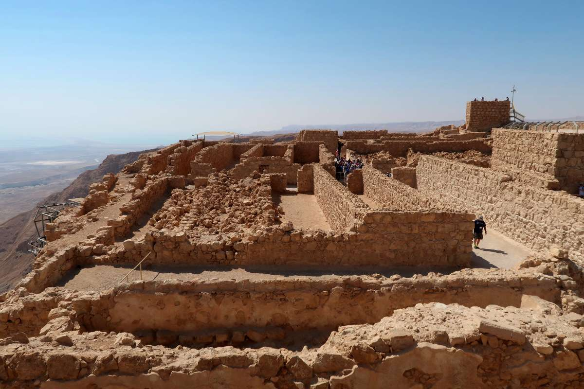 Masada - Voyager en backpack en Israël : 7 musts - Nomad Junkies
