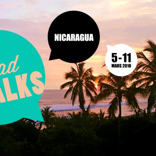 Une villa sur le bord de la mer. Une gang qui trippe voyage. La vibe du Nicaragua.