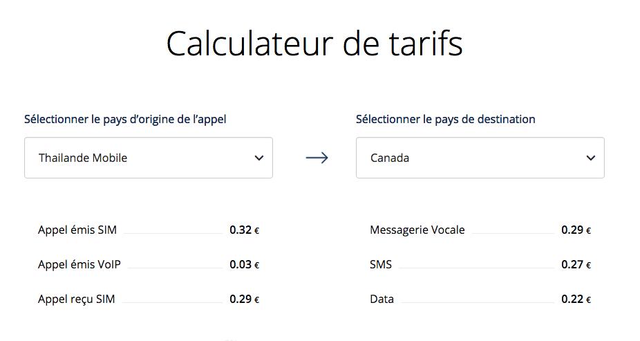 Calculateur de tarifs Explod - La carte SIM qu'il te faut absolument pour ton prochain voyage - Nomad Junkies