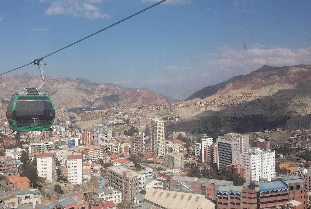 Gondole - 5 choses que tu dois savoir avant de partir voyager en Bolivie - Nomad Junkies