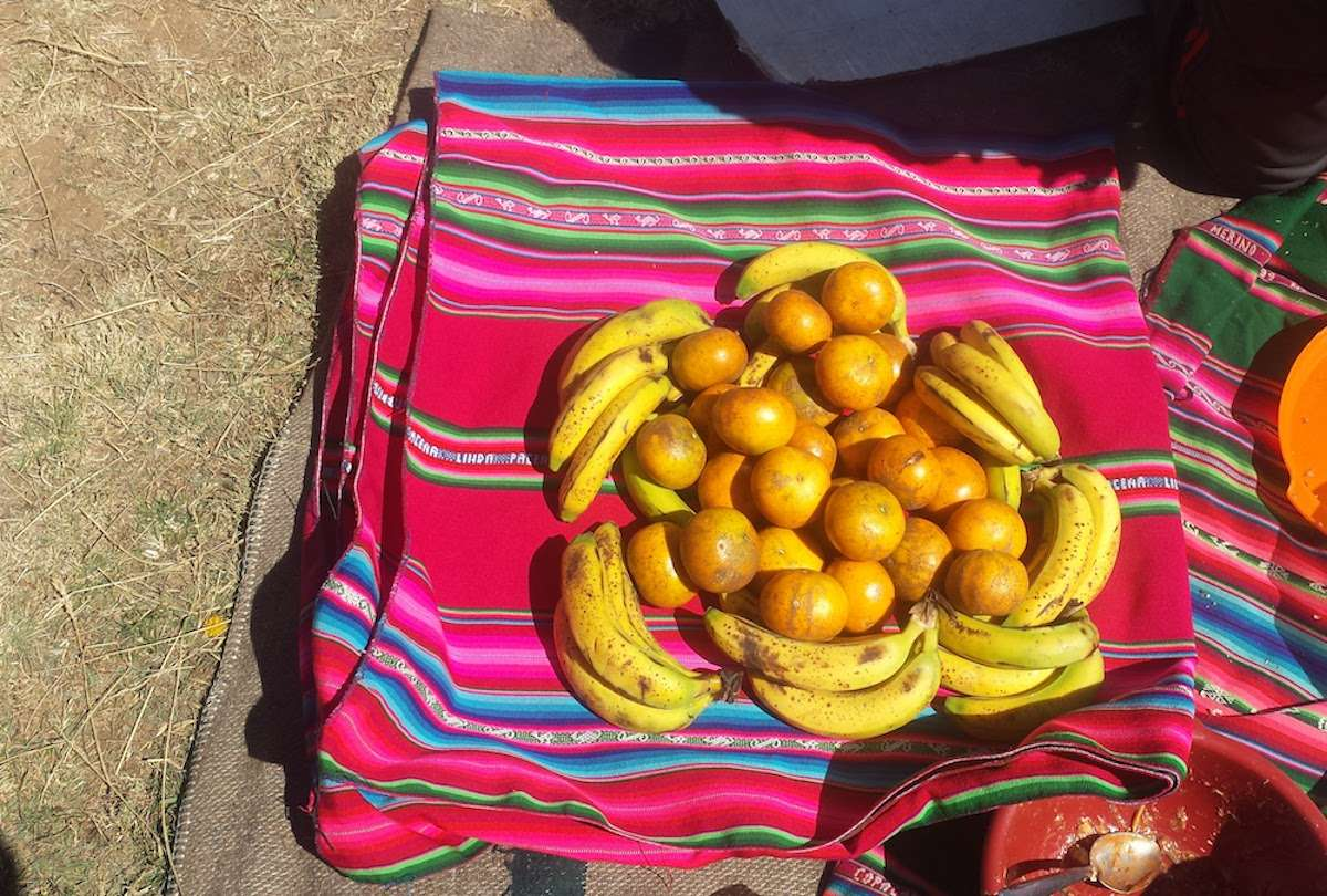 Fruits - 5 choses que tu dois savoir avant de partir voyager en Bolivie - Nomad Junkies