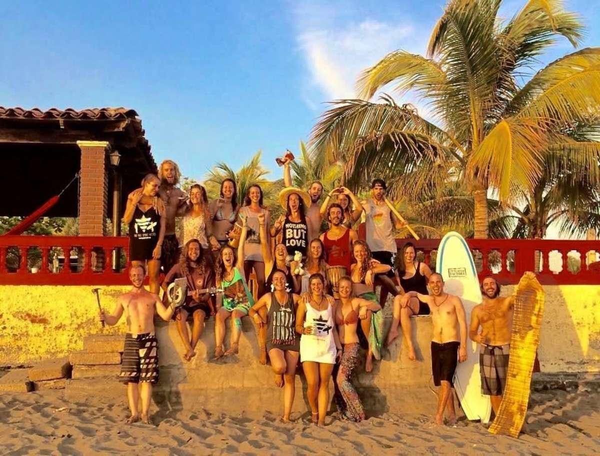 Free Spirit groupe - 10 bonnes raisons de venir triper au Nicaragua aux prochains NomadTALKS - Nomad Junkies