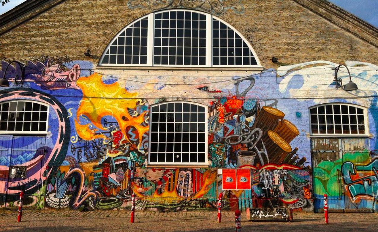 Christiana Danemark - Graffiti : Top 99 des villes les plus instagrammées - Nomad Junkies