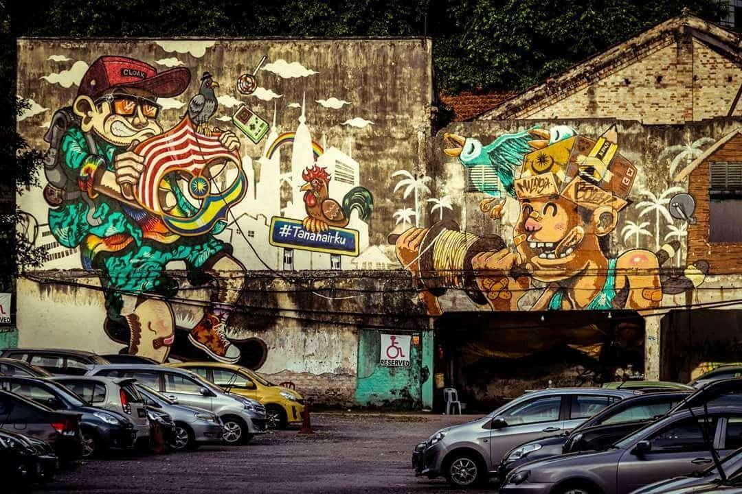 Kuala Lumpur - Graffiti : Top 99 des villes les plus instagrammées - Nomad Junkies