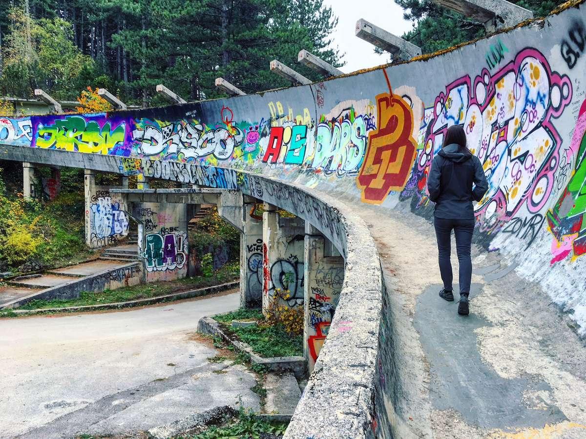 Sarajevo Bosnie - Graffiti : Top 99 des villes les plus instagrammées - Nomad Junkies