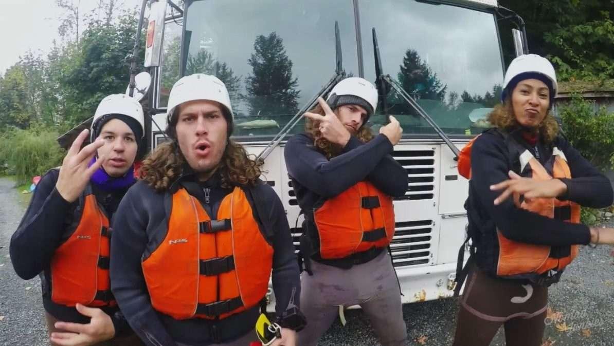 Rafting - Épisode 1 : dans l'Ouest canadien - Génération Nomade - Nomad Junkies