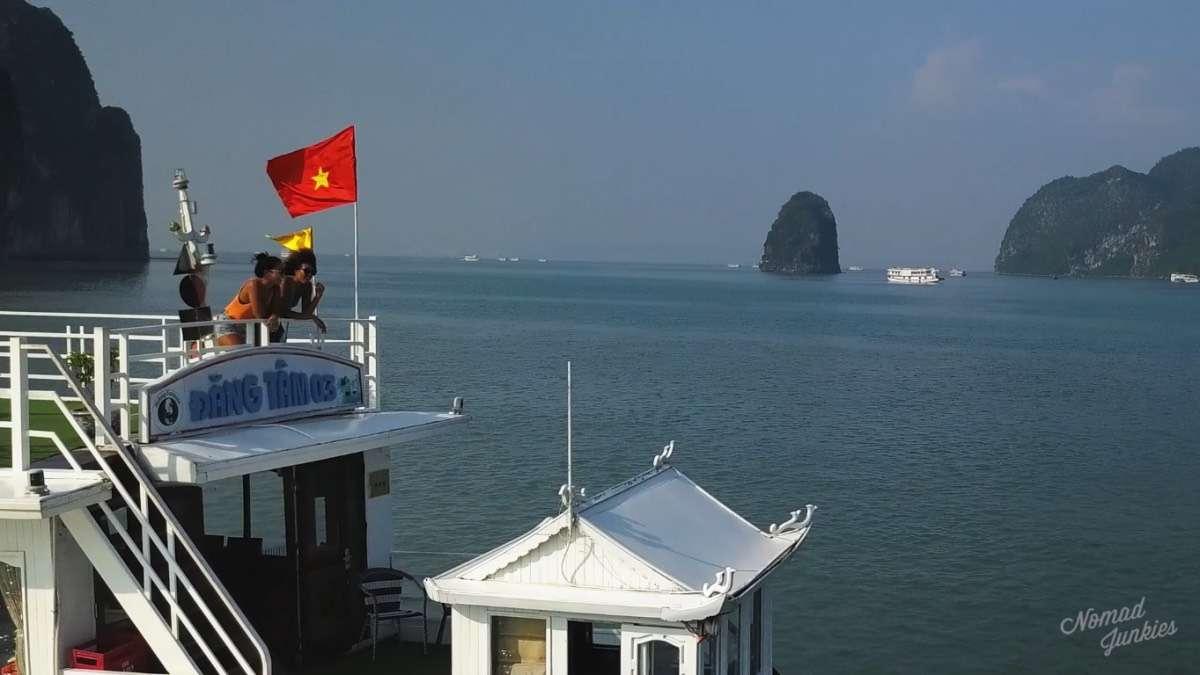 Halong Bay - Episode 3 au Vietnam Génération Nomade - Nomade Junkies
