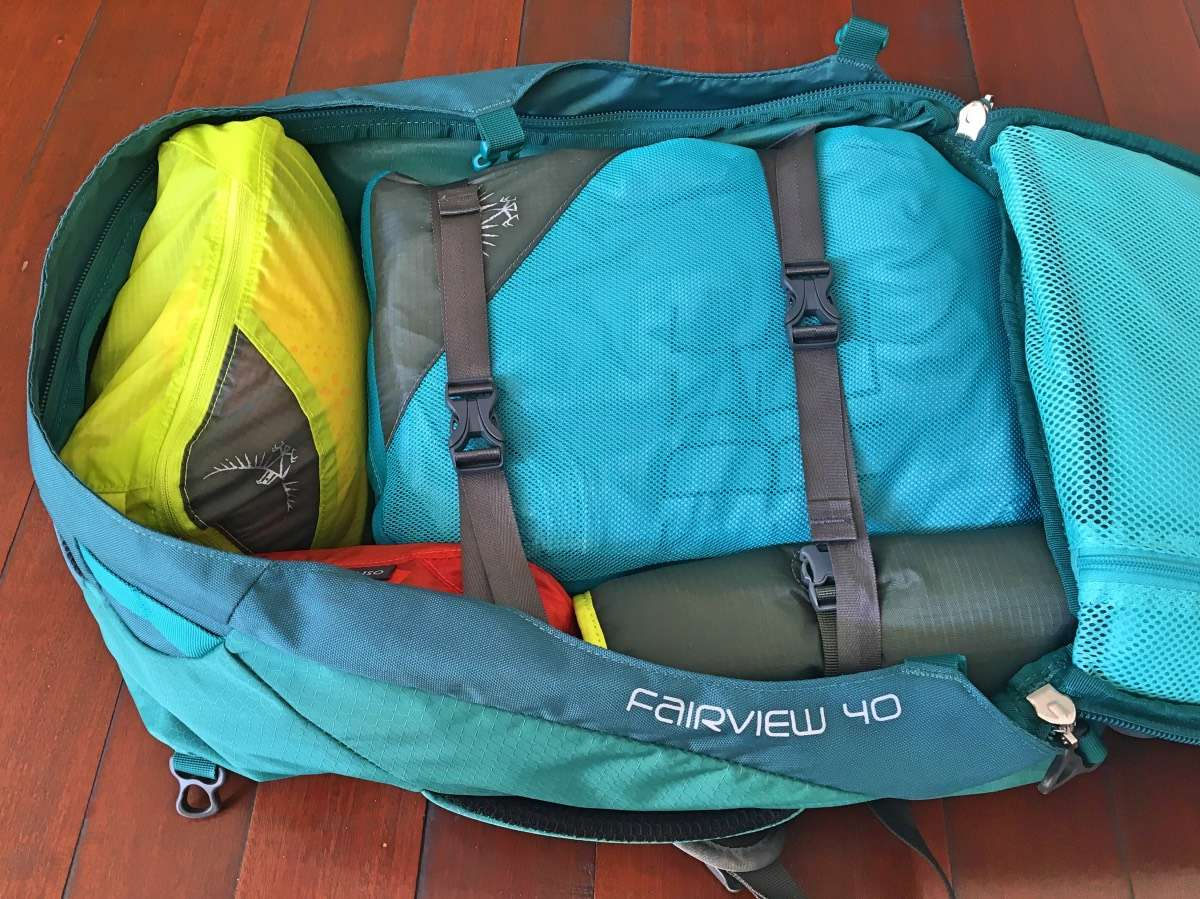 Tropic Teal One Size Osprey Packs Document Zip