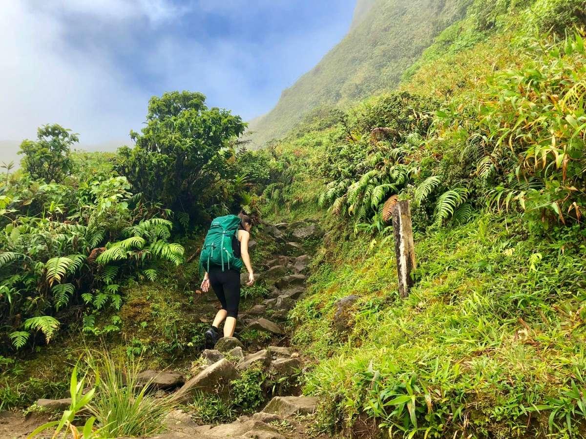 Ascension Trekking Montagne Pelée Volcan - Martinique
