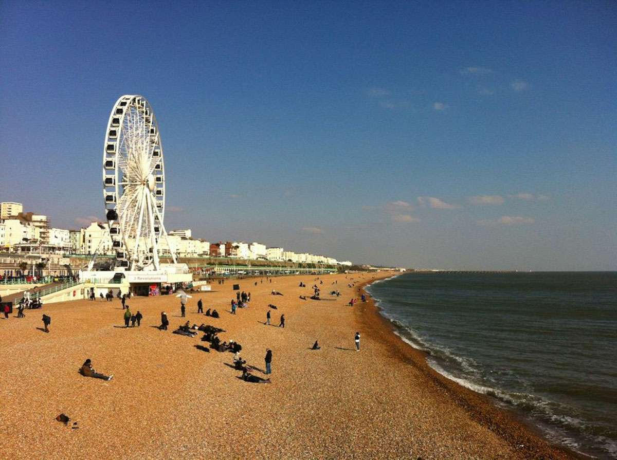 Chantal, PVT, Brighton, voyage, Royaume Uni, Nomad Junkies