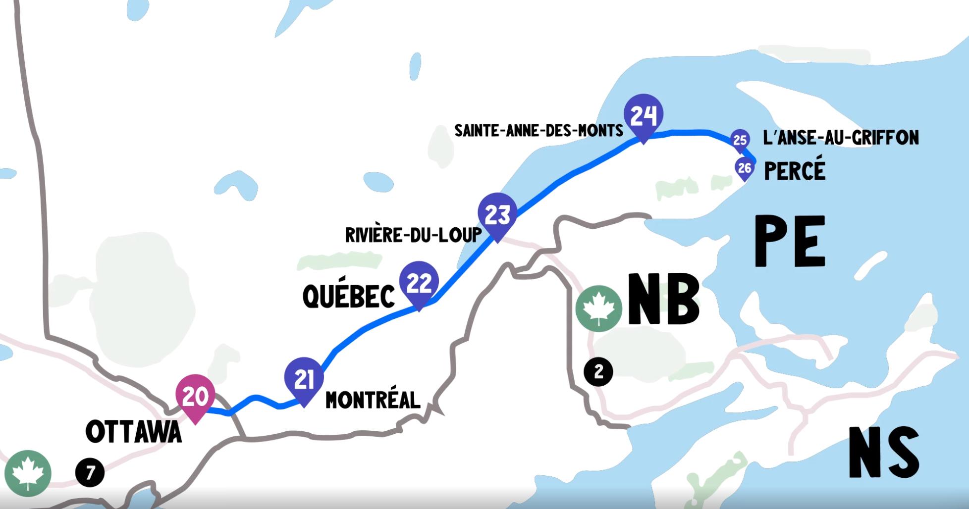 Itinéraire Tour de la Gaspésie - Itinéraire pour un tour de la Gaspésie magique cet été - Nomad Junkies