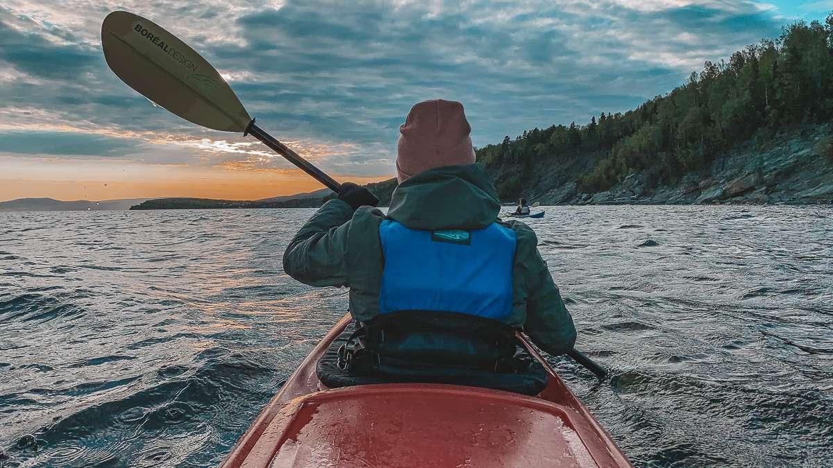 Kayak phoques - Itinéraire pour un tour de la Gaspésie magique cet été - Nomad Junkies