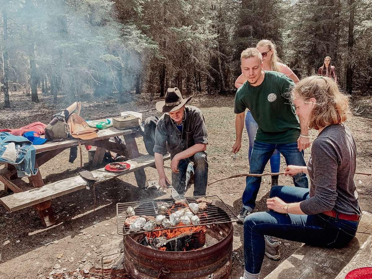 Bush BBQ Mount Riding National Park