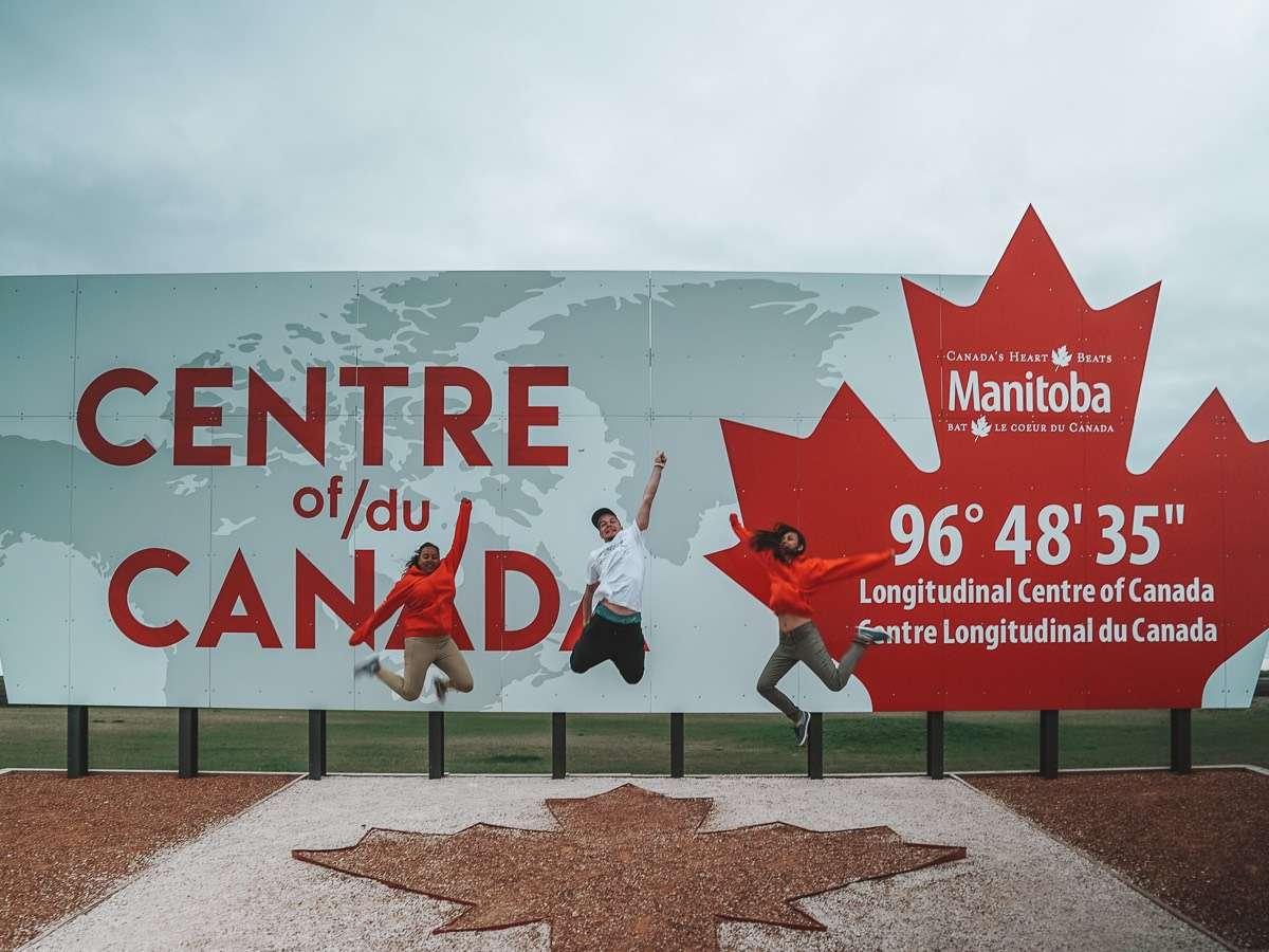 Manitoba - Centre of Canada