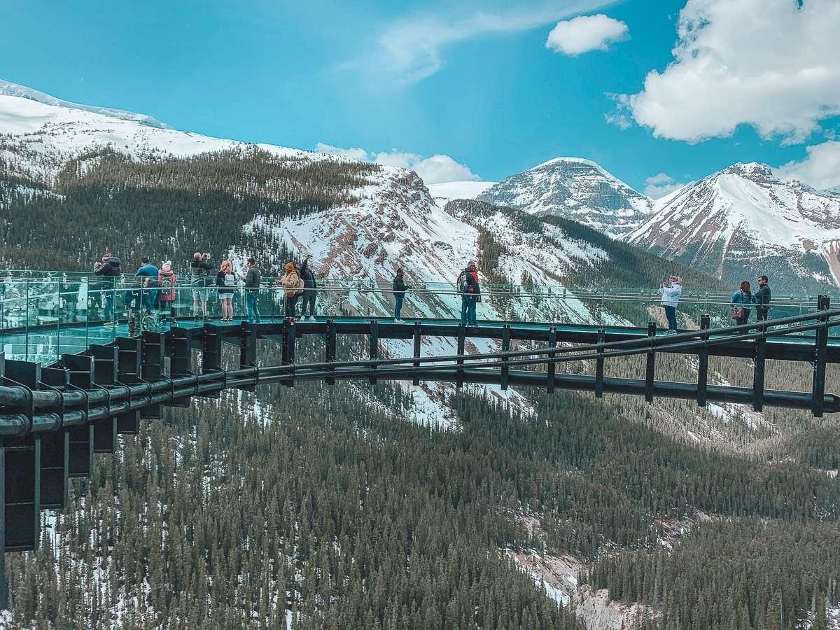 Glacier SkyWalk - Backpacking Canada: 10 days in Alberta - Nomad Junkies