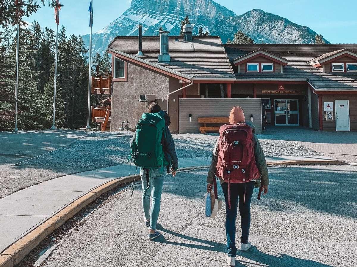 HI Banff Alpine Centre - Backpacking Canada: 10 days in Alberta - Nomad Junkies