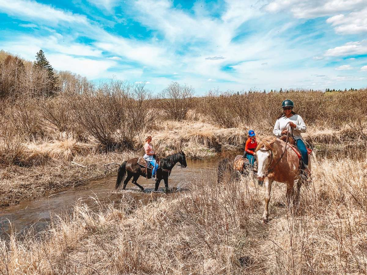 Horseback Riding - 3 Must-Stop Places to Visit in Manitoba During a Cross-Canada Road Trip - Nomad Junkies