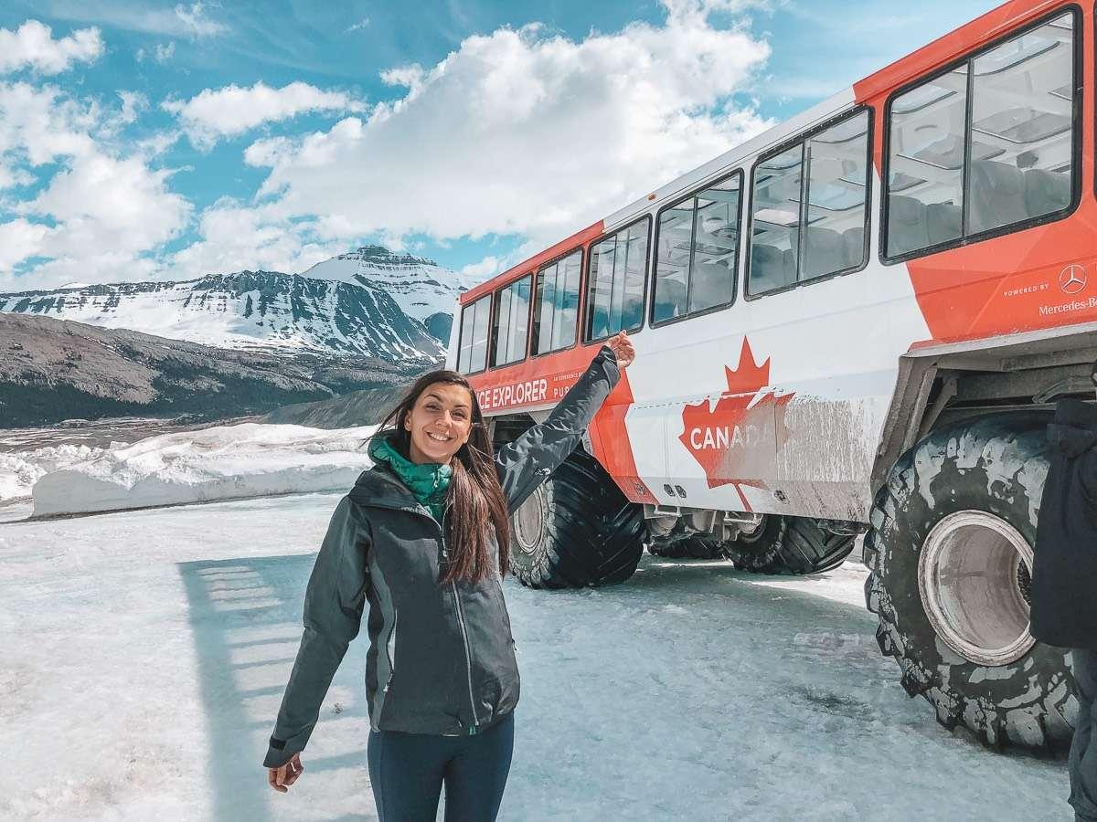 Ice Explorer Adventure - Backpacking Canada: 10 days in Alberta - Nomad Junkies