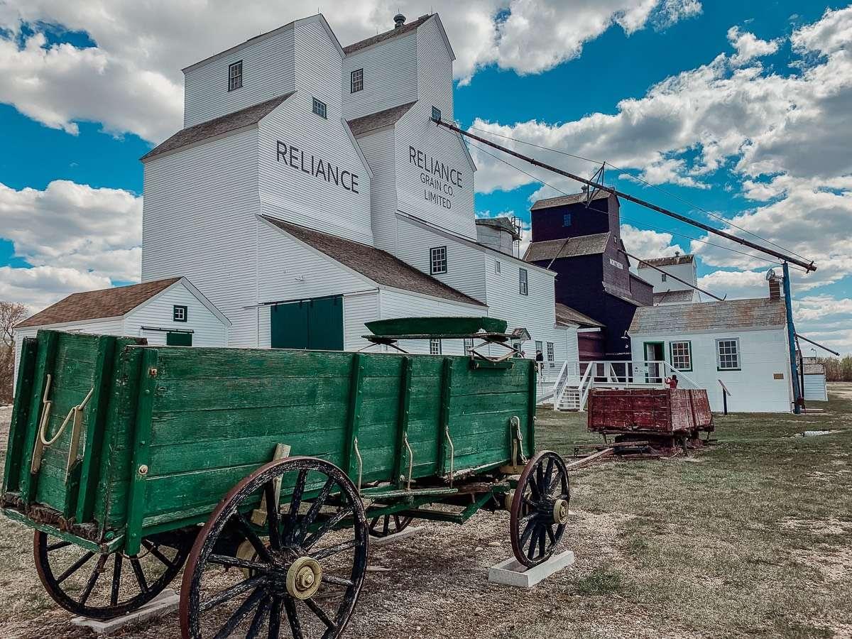 Inglis Grain Elevator - Manitoba