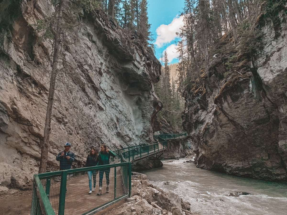 Johnston Canyon - Backpacking Canada: 10 days in Alberta - Nomad Junkies